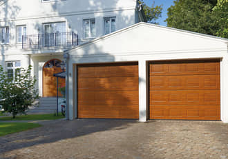 Garage modern holz  Hörmann | Sectional doors | Modern sectional doors from the market ...